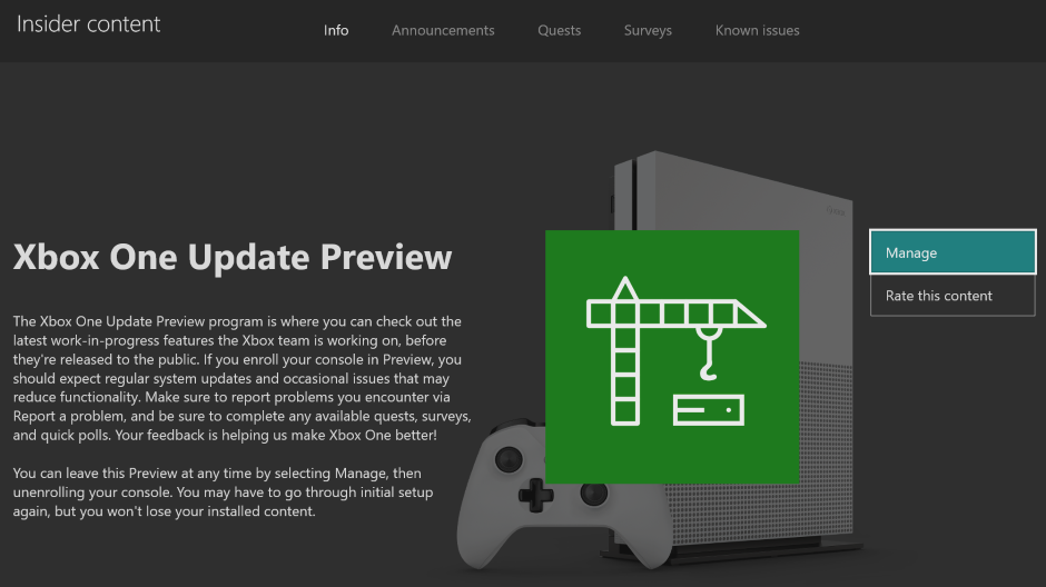 Xbox Insider Release Notes – Alpha Skip Ahead Ring (2004.191113-2300)