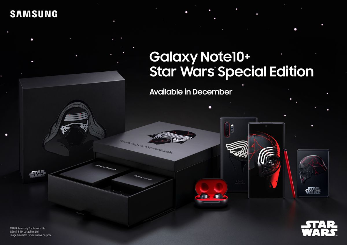 The Force is strong with Samsung's Star Wars-themed Galaxy Note 10 Plus – CircuitBreaker