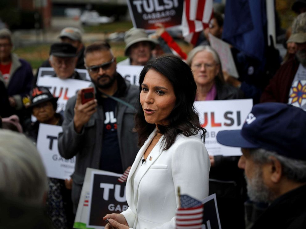 Rep. Tulsi Gabbard fights back against Clintons remarks, calls themdemeaning
